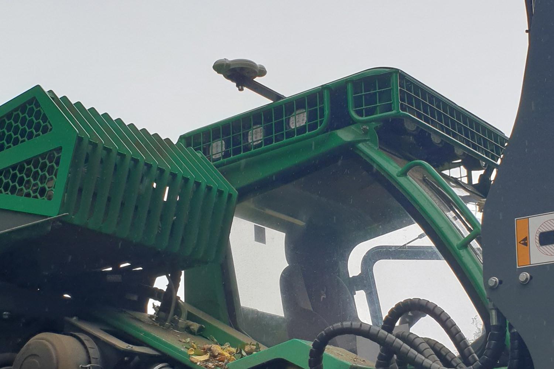 RoyalFix Befestigung am Harvester